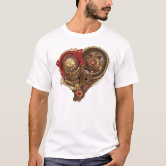 CardioArt - Assembled Heart  in Red and Gold III T-Shirt