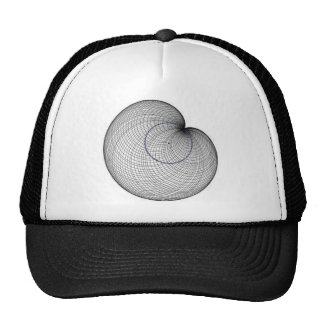 cardioide mesh hat