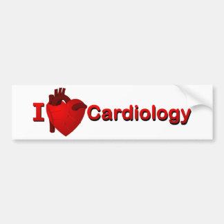 Cardiología I <3 Pegatina Para Auto
