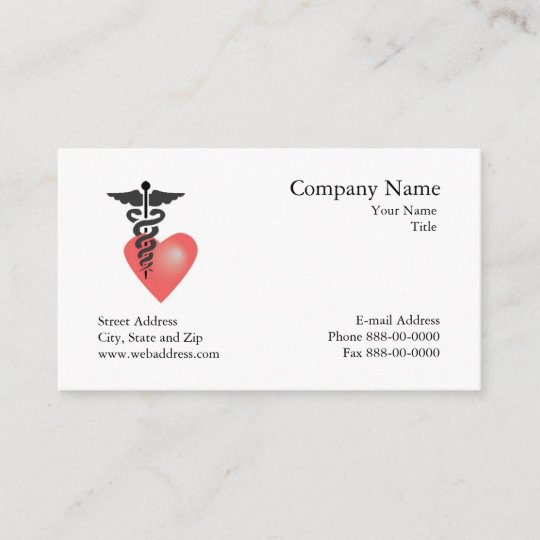 Cardiologist Appointment Business Card Zazzle