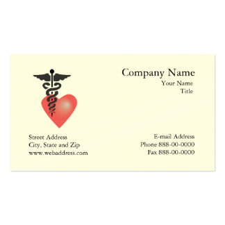 Cardiologist  Appointment Business Card