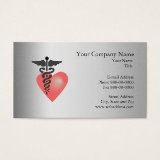 Cardiologist  Business Card