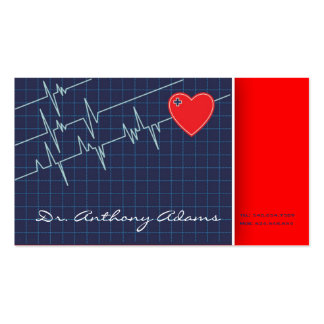 Cardiologist Business Card Template