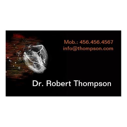Cardiologist / Cardiology / Cardiosurgeons Card Business Cards