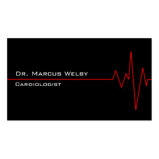 Cardiologist Double-Sided Standard Business Cards (Pack Of 100)