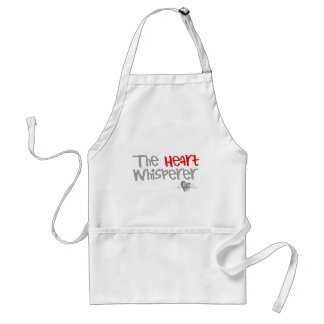 "Cardiologist Gifts ""The Heart Whisperer"" Adult Apron"