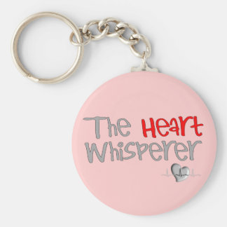 "Cardiologist Gifts ""The Heart Whisperer"" Keychain"