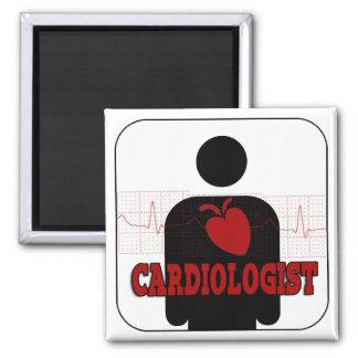 CARDIOLOGIST LOGO MAGNET