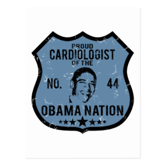 Cardiologist Obama Nation Postcard
