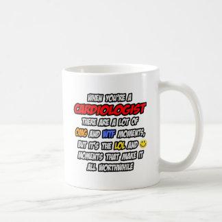 Cardiologist .. OMG WTF LOL Coffee Mug
