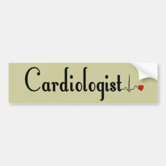 Cardiologist QRS Complex Gifts Bumper Sticker