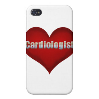 Cardiologist Red Heart Cases For iPhone 4