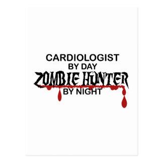 Cardiologist Zombie Hunter Postcard
