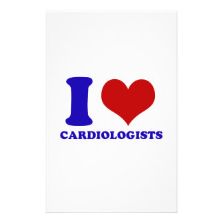 cardiologists design stationery