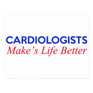 cardiologists make's life better postcard