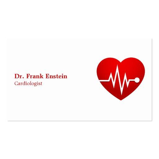 Cardiólogo Plantillas De Tarjetas Personales