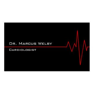 Cardiólogo Plantillas De Tarjeta De Negocio
