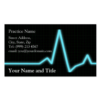 cardiology Business card