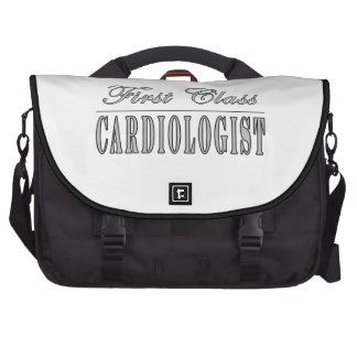 Cardiology Cardiologists First Class Cardiologist Laptop Bag