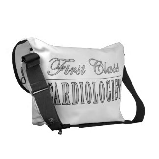 Cardiology Cardiologists First Class Cardiologist Messenger Bag