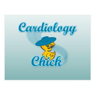 Cardiology Chick #3 Postcard
