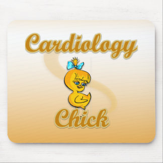 Cardiology Chick Mouse Pad