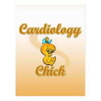 Cardiology Chick Postcard