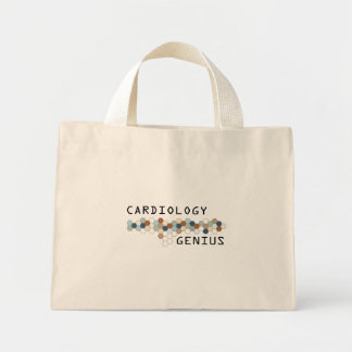 Cardiology Genius Canvas Bags