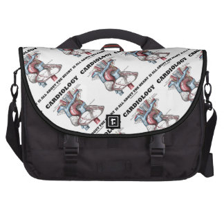 Cardiology Is All About The Heart Anatomical Commuter Bag