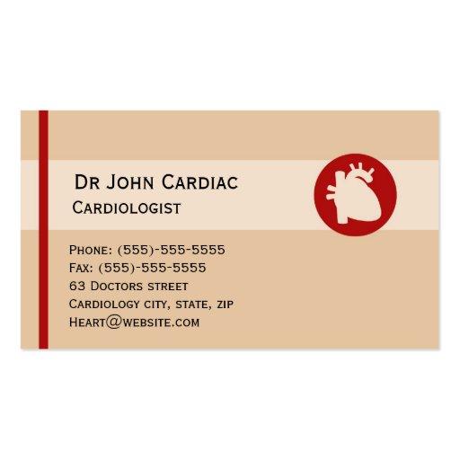Surgeons business card templates bizcardstudio cardiology or cardiac surgeon business card colourmoves