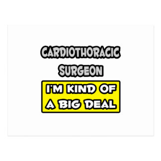 Cardiothoracic Surgeon .. I'm Kind of a Big Deal Postcard
