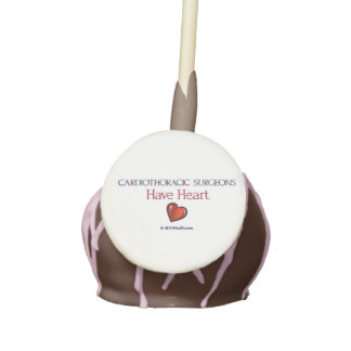 Cardiothoracic Surgeons Cookies Cake Pops