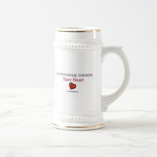Cardiothoracic Surgeons Have Heart 18 Oz Beer Stein