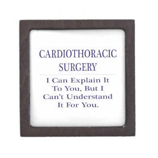 Cardiothoracic Surgery .. Explain Not Understand Premium Trinket Boxes