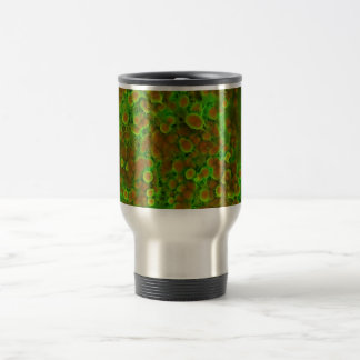 Cardiovascular Calcification Microscopic Close Up 15 Oz Stainless Steel Travel Mug