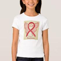Cardiovascular Disease Awareness Ribbon Shirt