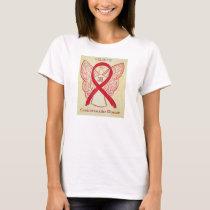 Cardiovascular Disease Red Awareness Ribbon Shirt
