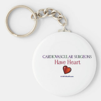 Cardiovascular Surgeons Have Heart Keychain