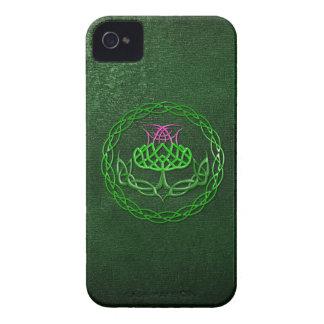 Cardo céltico colorido del nudo Case-Mate iPhone 4 carcasas