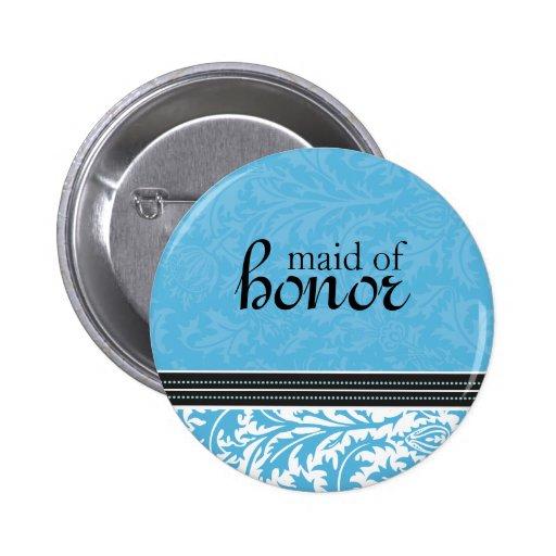 Cardo-Criada moderna retra del botón del honor