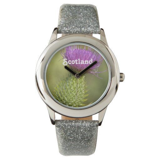 Cardo de Escocia Reloj De Mano