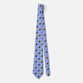 cardo el azul del lazo (del árbitro) corbata personalizada