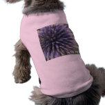 Cardo escocés camiseta sin mangas para perro