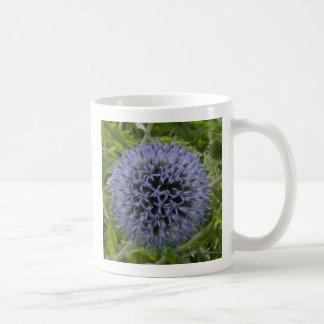 Cardo púrpura simple taza