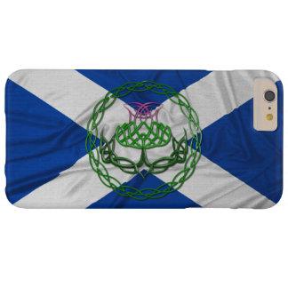Cardo y bandera célticos del nudo funda para iPhone 6 plus barely there