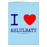 i [Love heart]  ahlulbayt i [Love heart]  ahlulbayt Cards
