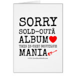 sorry sold-out album [Love heart]  this is chic boutique mania [Electric guitar]   sorry sold-out album [Love heart]  this is chic boutique mania [Electric guitar]   Cards