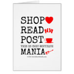shop [Love heart]  read [Feet]  post [Cup]  this is chic boutique mania [Electric guitar]   shop [Love heart]  read [Feet]  post [Cup]  this is chic boutique mania [Electric guitar]   Cards