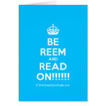 [Crown] be reem and read on!!!!!!  Cards
