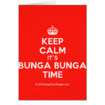 [Crown] keep calm it's bunga bunga time  Cards
